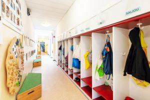 Inakindergarten, Raumfotos, Kita Lützowstrasse, Garderobe