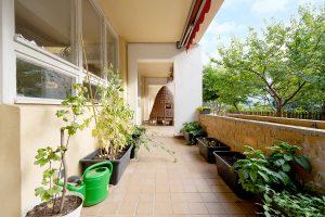 Inakindergarten, Raumfotos, Kita Habersaathstrasse, Balkon, Terrasse