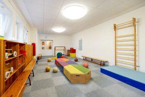 Inakindergarten, Raumfotos, Kita Habersaathstrasse, Bewegungsraum