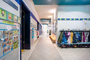 Inakindergarten, Raumfotos, Kita Lüneburger Strasse, Flur