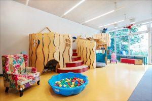 Inakindergarten, Raumfotos, Kita Lüneburger Strasse, Spielpodest