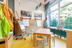 Inakindergarten, Raumfotos, Kita Lüneburger Strasse, Kinderatelier
