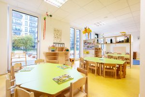 Inakindergarten, Raumfotos, Kita Europacity, Speiseraum