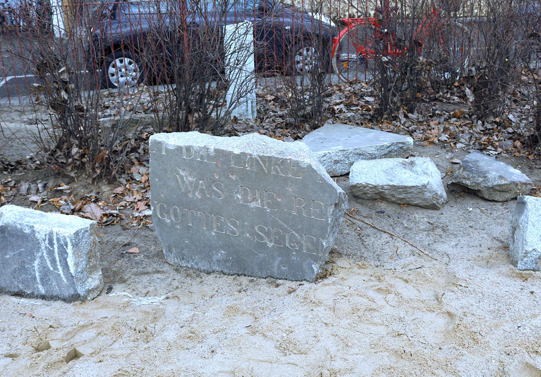 Archäologischer Fund in der Kita Habersaathstraße