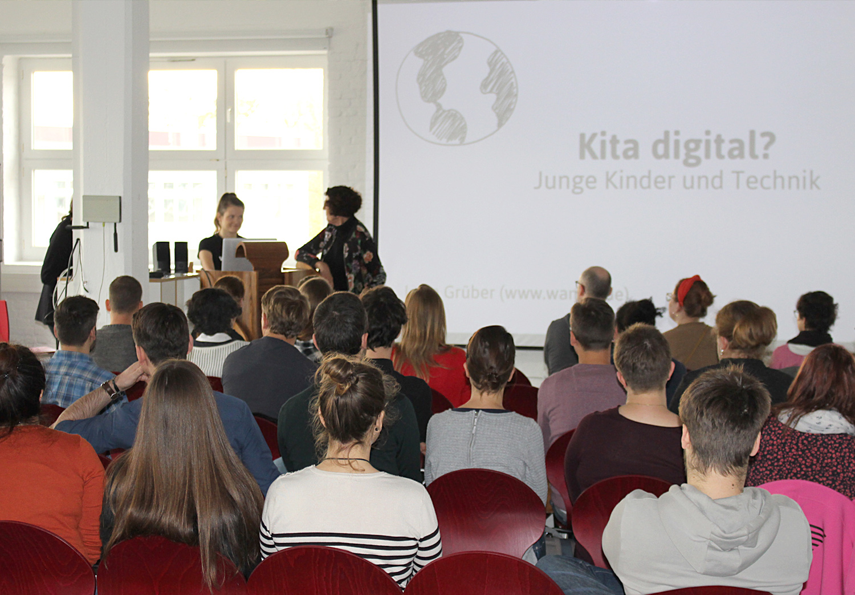 Workshop zur Digitalisierung in der Kita