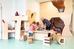 Inakindergarten, Raumfotos, Kita Finchleystrasse, Schreibwerkstatt