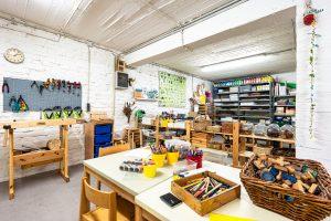 Inakindergarten, Raumfotos, Kita Neue Steinmetzstrasse, Kinderatelier