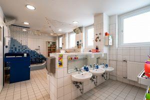 Inakindergarten, Raumfotos, Kita Neue Steinmetzstrasse, Waschraum