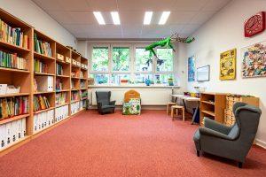 Inakindergarten, Raumfotos, Kita Neue Steinmetzstrasse, Lesewerkstatt