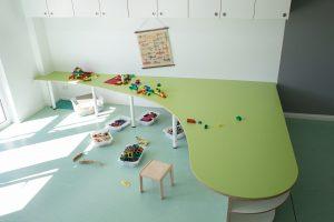 Inakindergarten, Raumfotos, Kita Finchleystrasse, Bautisch