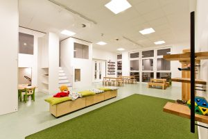 Inakindergarten, Raumfotos, Kita Finchleystrasse, Bewegunngsraum