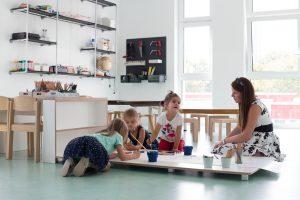 Inakindergarten, Raumfotos, Kita Finchleystrasse, Kinderatelier
