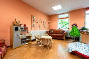 Inakindergarten, Kitaportrait, Preussstrasse, Pausenraum