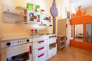 Inakindergarten, Kitaportrait, Preussstrasse, Kinderküche
