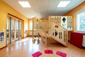 Inakindergarten, Kitaportrait, Preussstrasse, Spielpodest