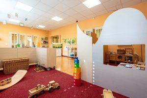 Inakindergarten, Kitaportrait, Preussstrasse, Kulisse