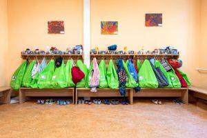 Inakindergarten, Kitaportrait, Preussstrasse, Garderobe