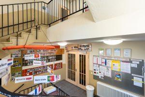 Inakindergarten, Kitaportrait, Preussstrasse, Treppenhaus
