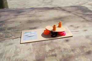 Inakindergarten, Neuigkeit Kita Flurweg, Modell aus dem Gartengestaltungs-Workshop