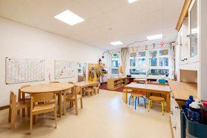 Inakindergarten, Raumfotos, Kita Bülowstrasse, Essensraum
