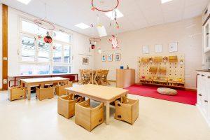 Inakindergarten, Raumfotos, Kita Bülowstrasse, Atelier