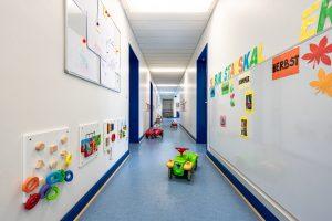 Inakindergarten, Raumfotos, Kita Grüntaler Strasse, Flur