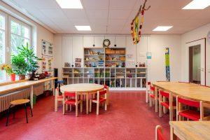 Inakindergarten, Raumfotos, Kita Grüntaler Strasse, Gruppenraum