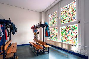 Inakindergarten, Raumfotos, Kita Grüntaler Strasse, Garderobe