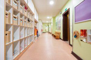 Inakindergarten, Raumfotos, Kita Seestraße, Flur