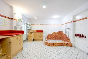 Inakindergarten, Raumfotos, Kita Seestraße, Waschraum