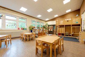 Inakindergarten, Raumfotos, Kita Seestraße, Speiseraum