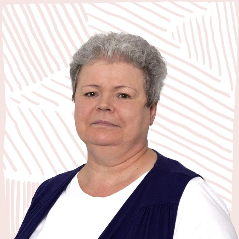 INA.KINDER.GARTEN Portrait Mitarbeiterin Verwaltung Iris Lehmann