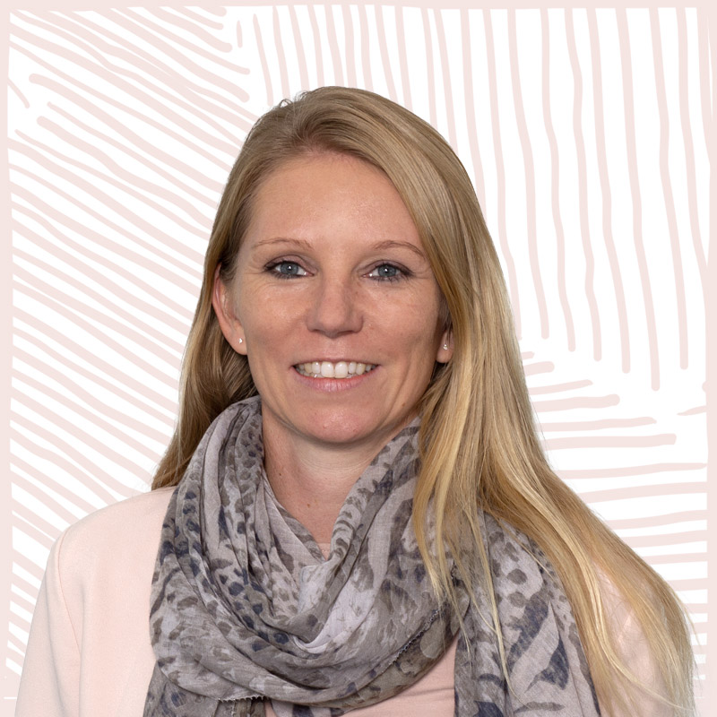 INA.KINDER.GARTEN Portrait Mitarbeiterin Verwaltung Kerstin Rothmann