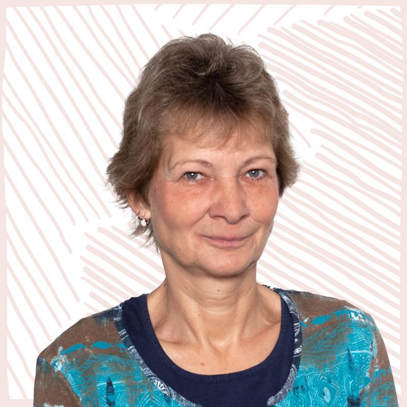 INA.KINDER.GARTEN Portrait Mitarbeiterin Verwaltung Silvia Smuda